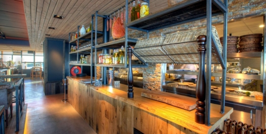 Laska Bar rekken voor Concours bouw
